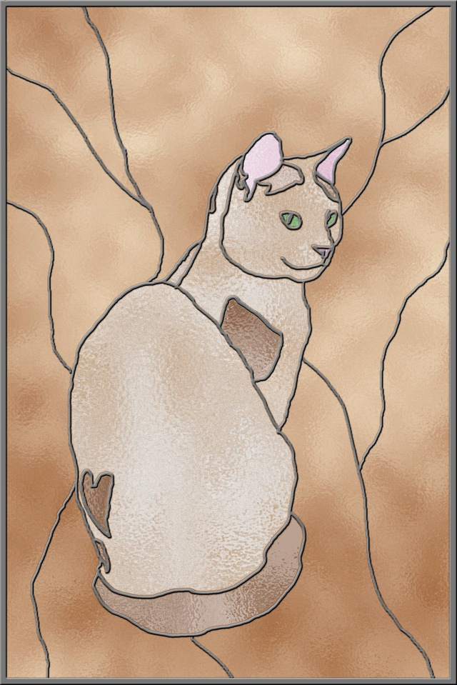stained-glass-cat